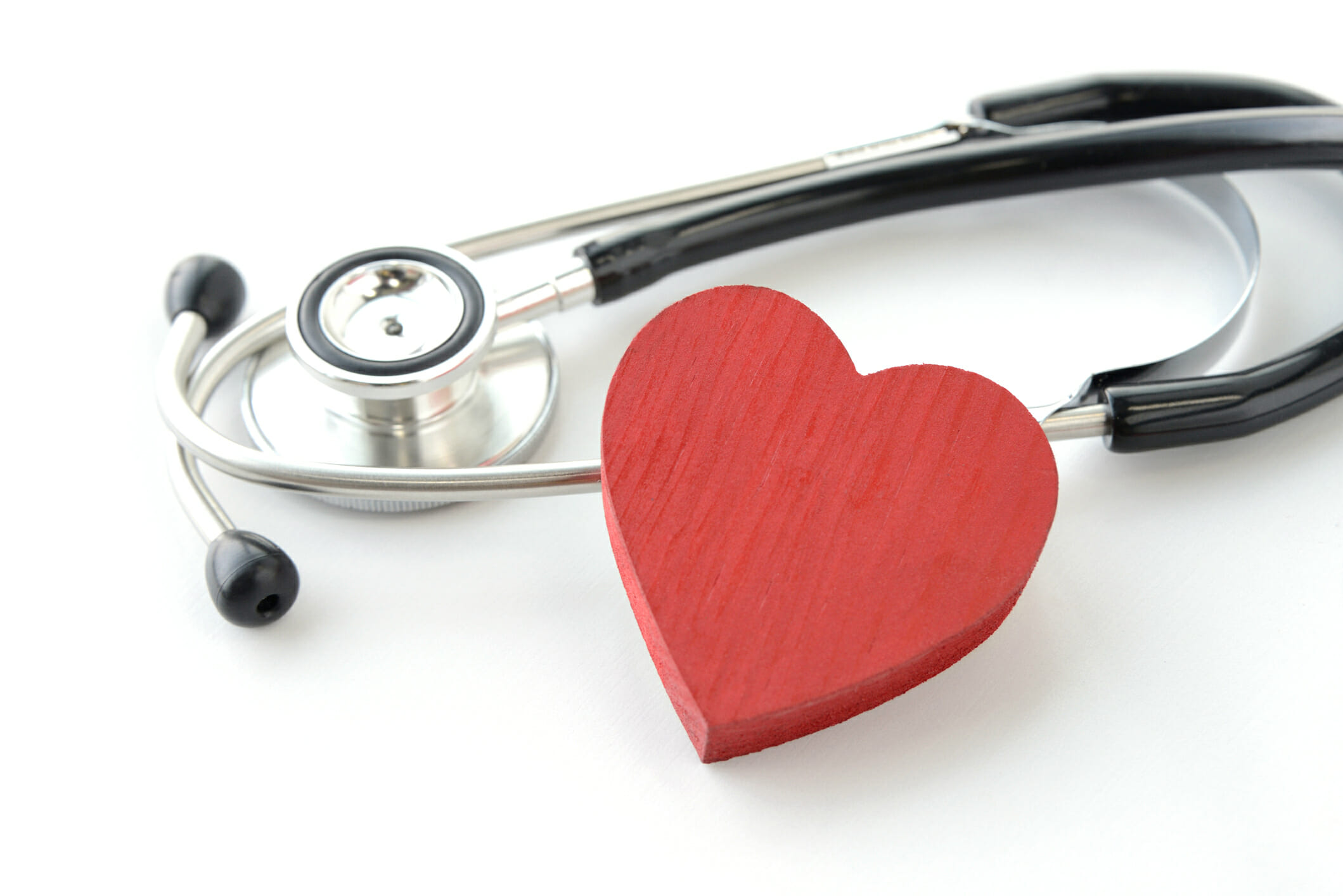Heart object and stethoscope