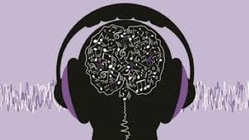 Listening to music increases brain organization