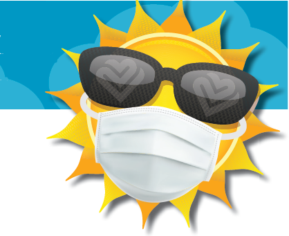 Here comes the sun…and ways to safely enjoy it