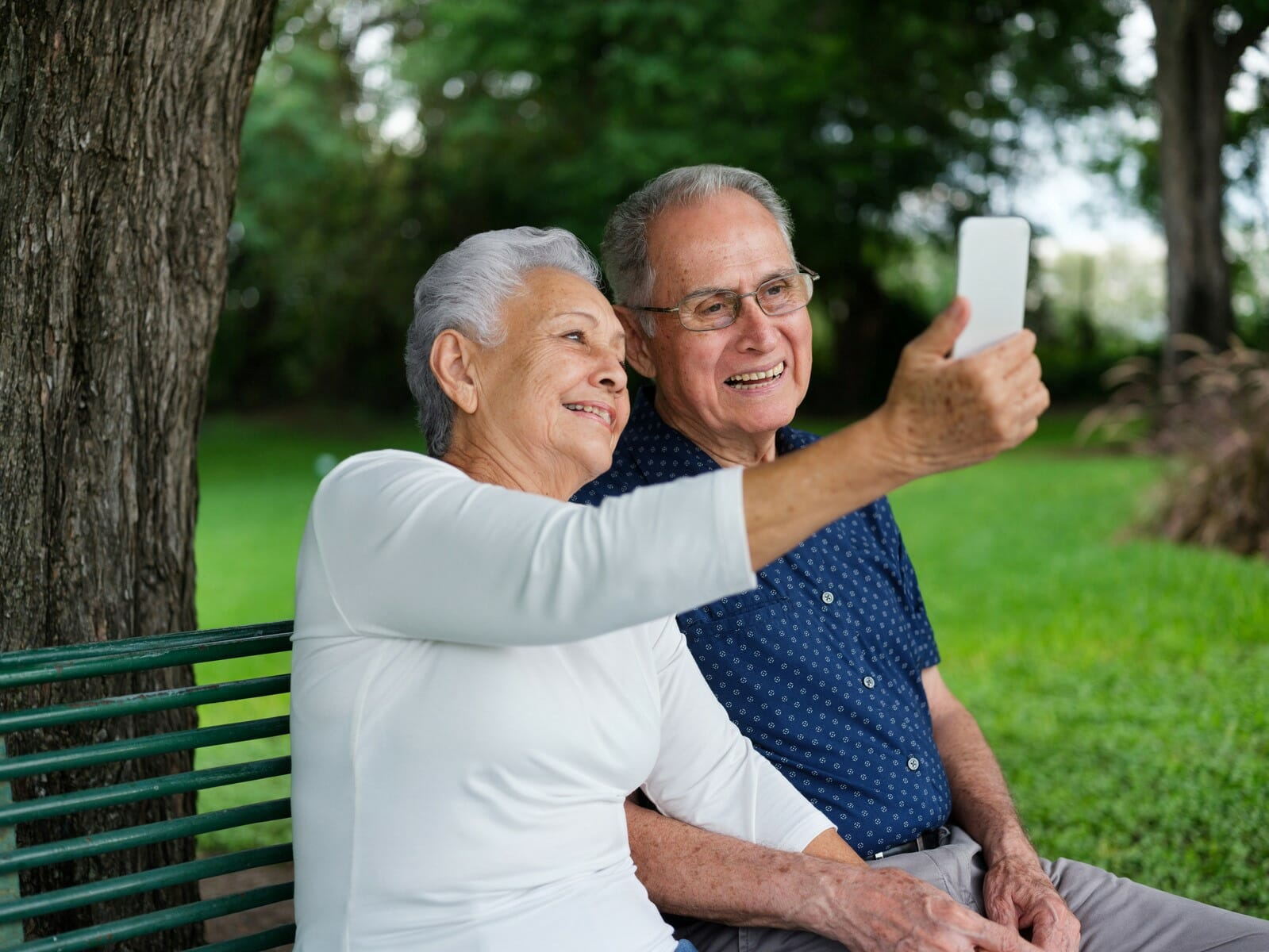 Communication technology helps grandparents stay connected across the miles