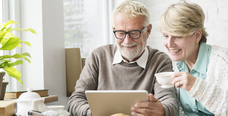 Communications technology helps grandparents stay connected