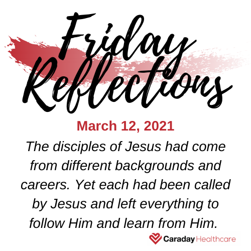 Friday Reflections – March 12, 2021