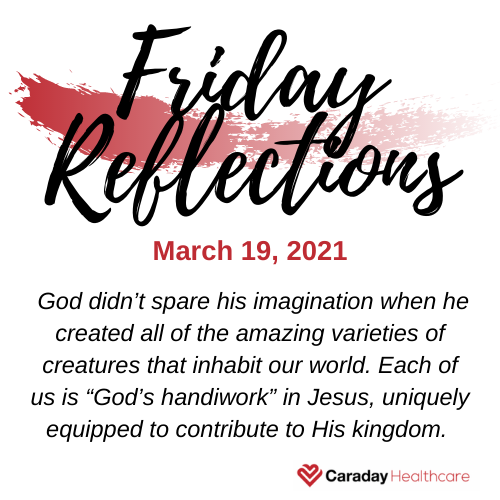 Friday Reflections – March 19, 2021
