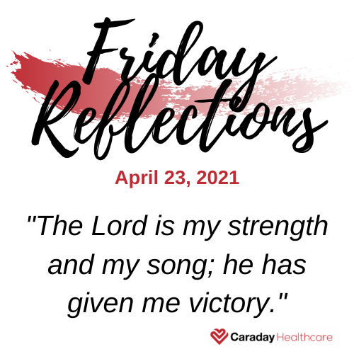 Friday Reflections – April 23, 2021